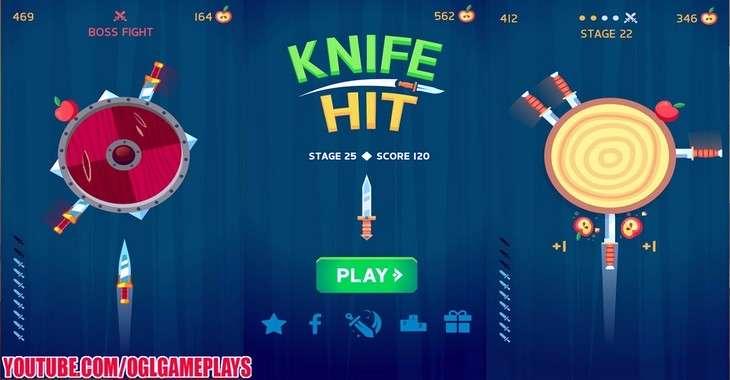 Чит коды на Knife Hit, как взломать Яблоки и Ножи
