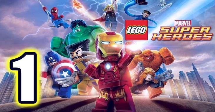 Чит коды на LEGO Marvel : Super Heroes, как взломать Персонажи