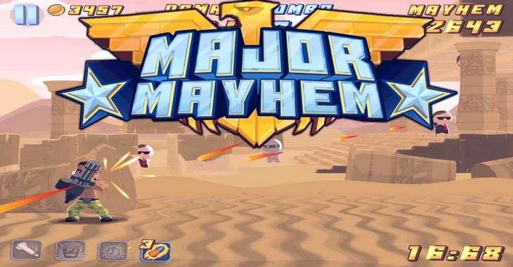Чит коды на Major Mayhem 2, как взломать Монеты