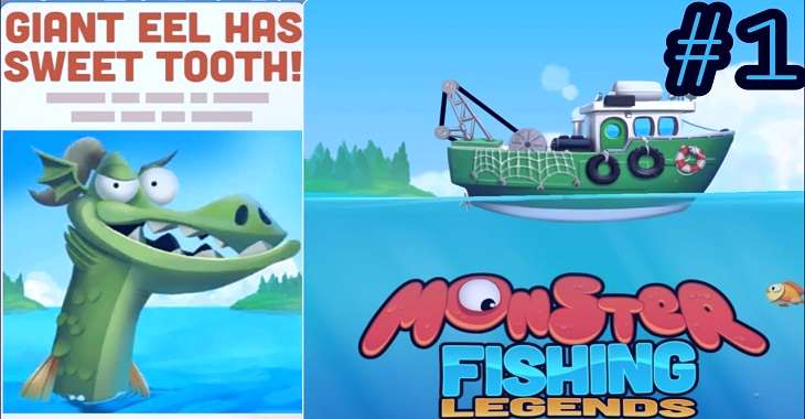 Чит коды на Monster Fishing Legends, как взломать Монеты