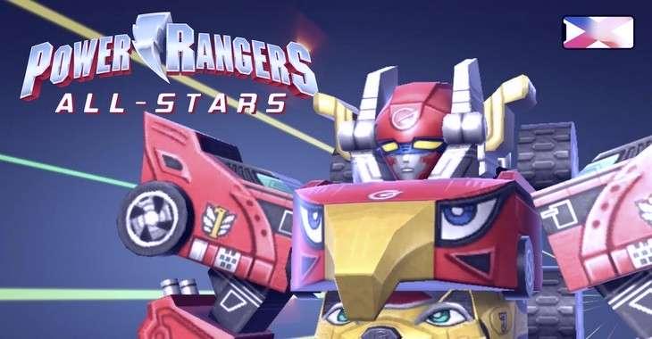 Чит коды на Power Rangers All Stars, как взломать Монеты и Патроны