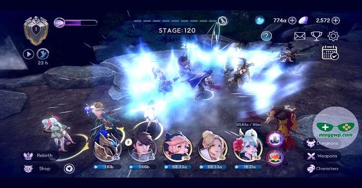Чит коды на Savior Saga : Idle RPG, как взломать Кристаллы и Драгоценные камни
