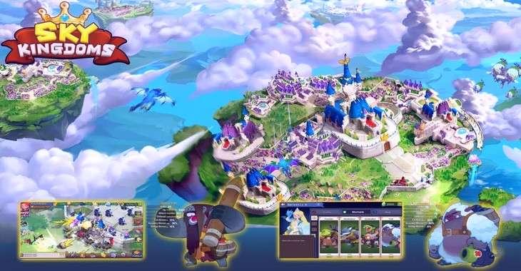 Чит коды на Sky Kingdoms, как взломать Серебро и Драгоценнве камни