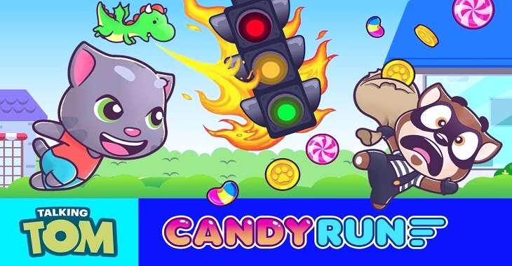 Чит коды на Talking Tom: Candy Run, как взломать Монеты и Бриллианты