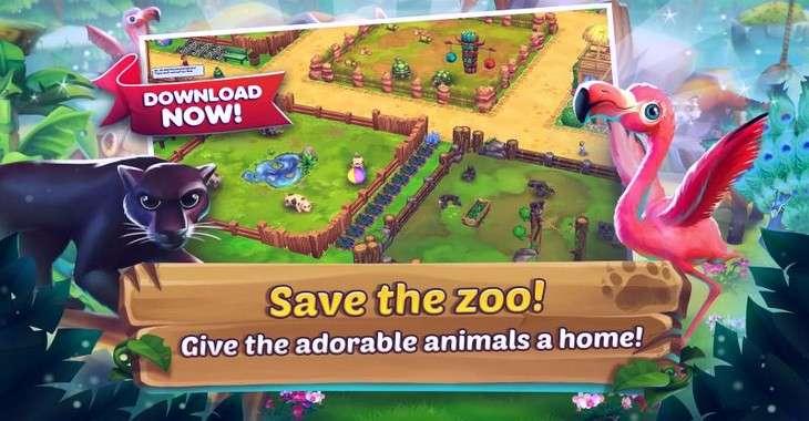 Чит коды на Zoo 2: Animal Park, как взломать Монеты и Бриллианты