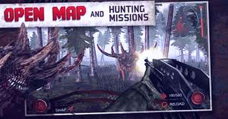 Чит коды на Dead Forest Zombie Deer Hunter, как взломать Монеты
