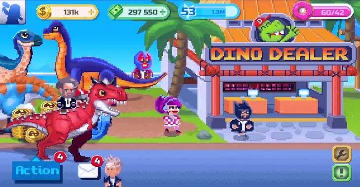 Чит коды на Dino Factory, как взломать Монеты и Баксы