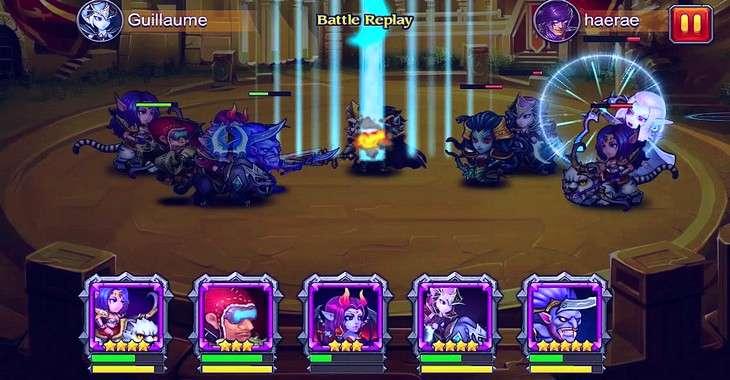 Чит коды на Heroes Charge, как взломать Драгоценные камни