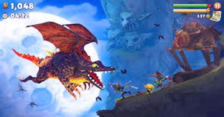 Чит коды на Hungry Dragon, как взломать Монеты и Драгоценные камни
