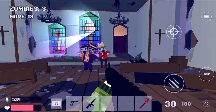 Чит коды на Pixel Combat: Zombies Strike, как взломать Бессмертие