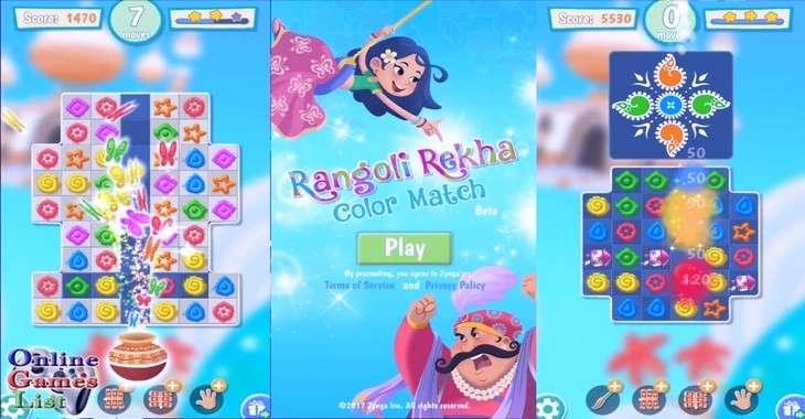 Чит коды на Rangoli Rekha: Color Match, как взломать Золото и Жизни