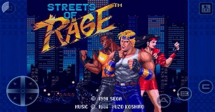Чит коды на Streets of Rage Classic, как взломать Уровни и Бессмертие