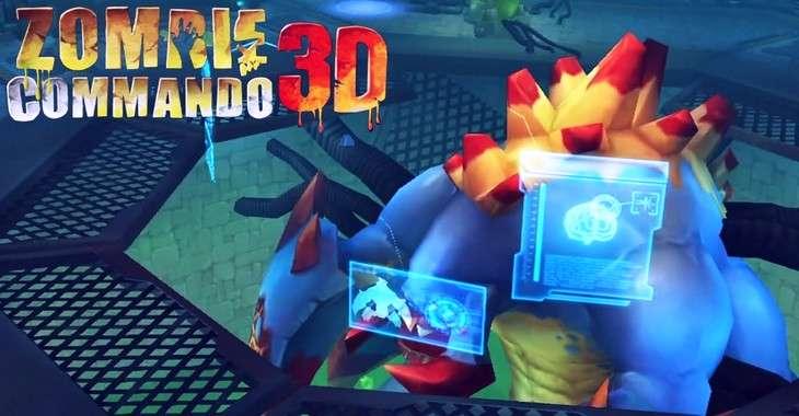 Чит коды на Zombie Commando 3D, как взломать Деньги и Медальоны
