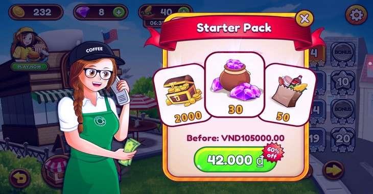 Чит коды на Cafe Panic: Cooking Restaurant, как взломать Деньги и Бриллианты