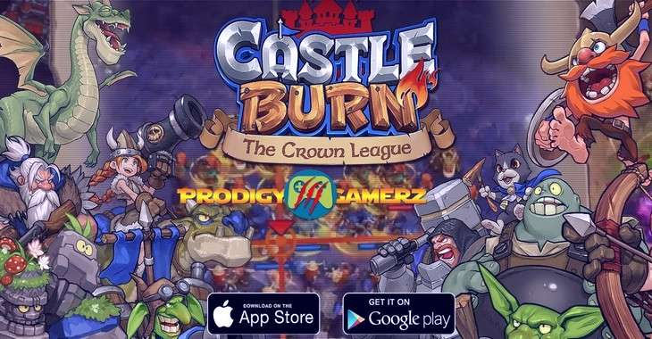 Чит коды на Castle Burn — The Crown League, как взломать Золото и Кристаллы