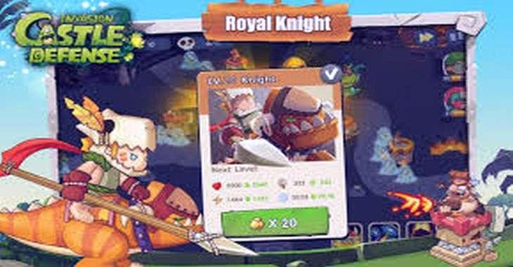 Чит коды на Castle Defense Invasion, как взломать Золото и Драгоценные камни