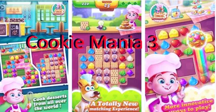 Чит коды на Cookie Mania 3, как взломать Монеты и Бустеры
