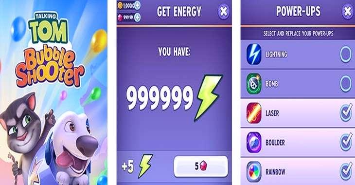 Чит коды на Говорящий Том: Bubble Shooter, как взломать Монеты, Энергия и Криссталлы