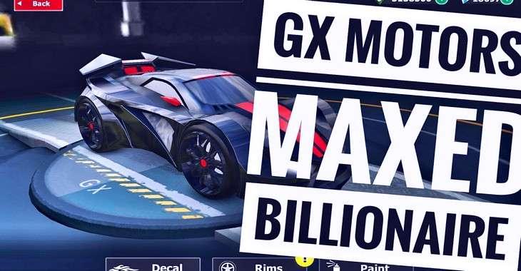 Чит коды на GX Motors, как взломать Монеты и Бриллианты