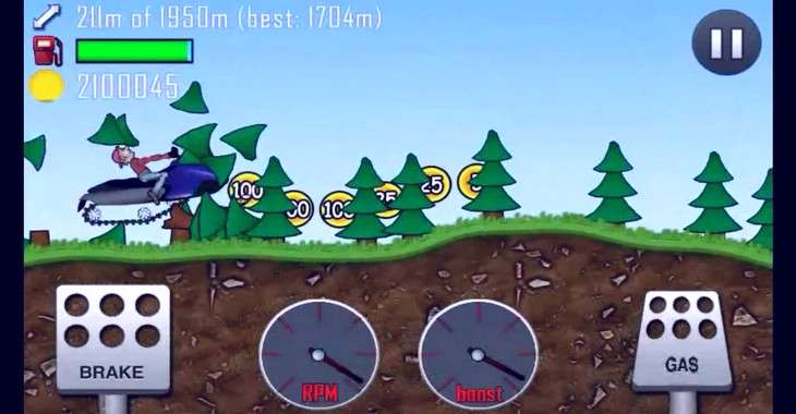 Чит коды на Hill Climb Racing, как взломать Монеты