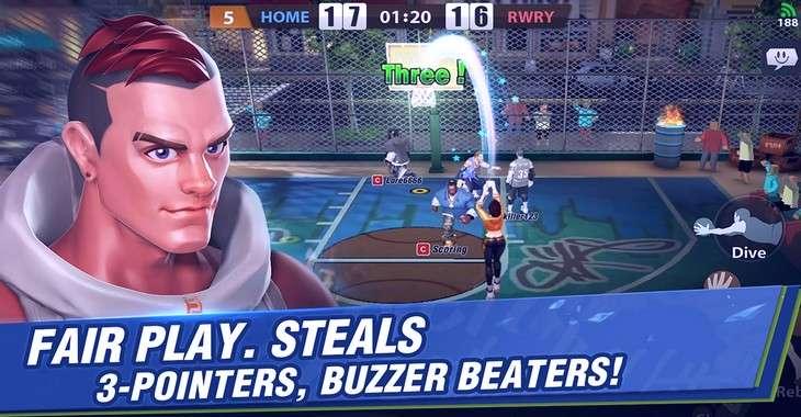 Чит коды на Hoop Legends: Slam Dunk, как взломать Золото и Очки