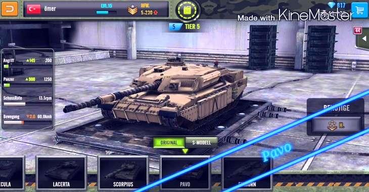 Чит коды на Panzer Force: Battle of fury, как взломать Золото, Топливо и Серебро