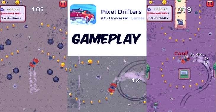 Чит коды на Pixel Drifters, как взломать Монеты и Опыт