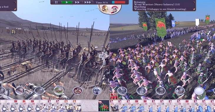 Чит коды на Rome: Total war, как взломать Золото