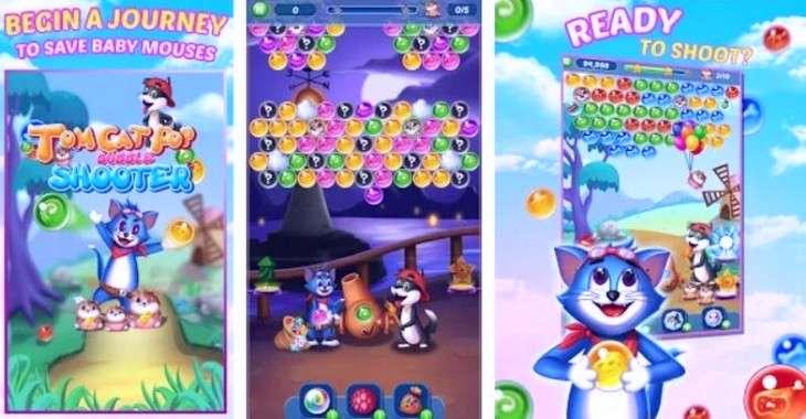 Чит коды на Tomcat Pop: Bubble Shooter, как взломать Монеты и Жизни