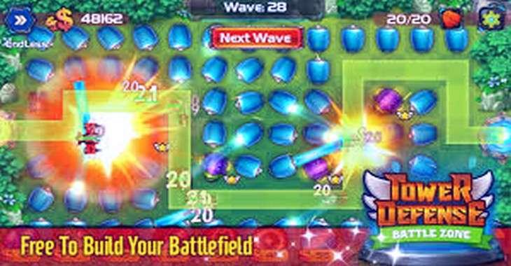 Чит коды на Tower Defense: Battle Zone, как взломать Деньги