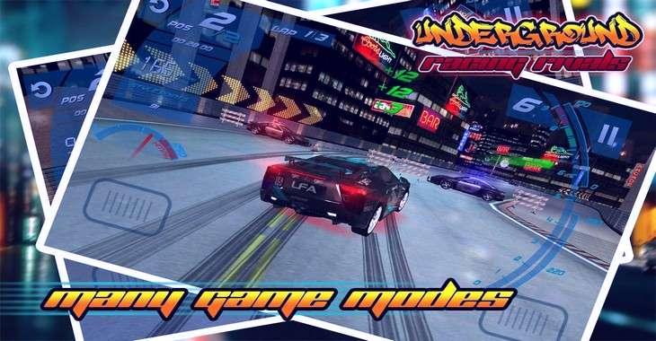 Чит коды на Underground Racing Rivals, как взломать Деньги и Скорость