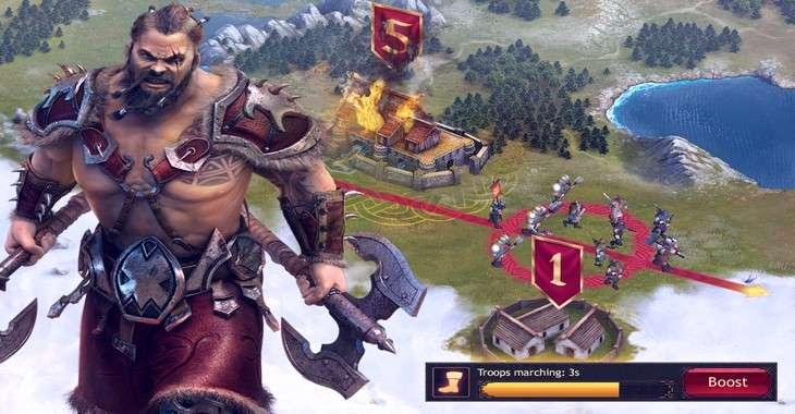 Чит коды на Vikings: War of Clans, как взломать Еда, Железо, Дерево, Камень и Серебро