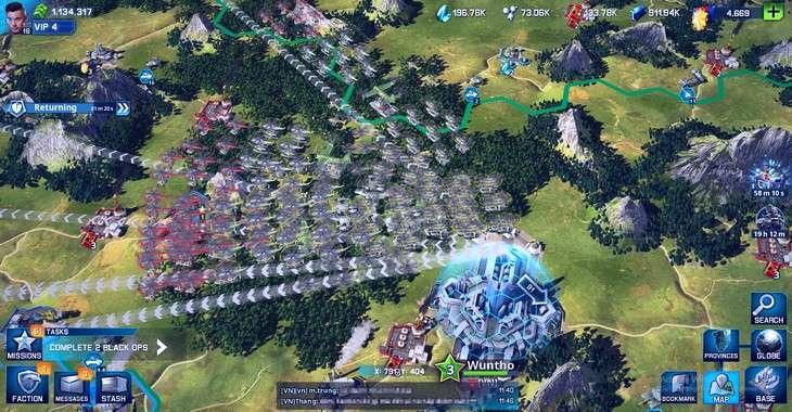 Чит коды на War Planet Online: Global Conquest, как взломать Медали, Нефть и Металл