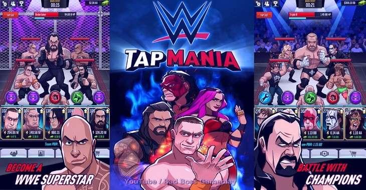 Чит коды на WWE Tap Mania, как взломать Деньги, Энергия и Золото