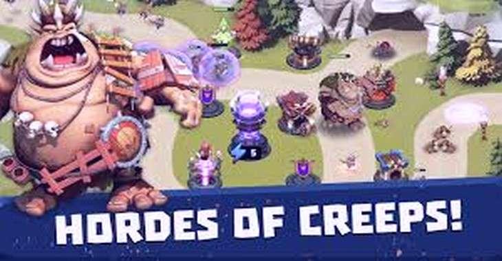 Чит коды на Castle Creeps TD, как взломать Драгоценные камни