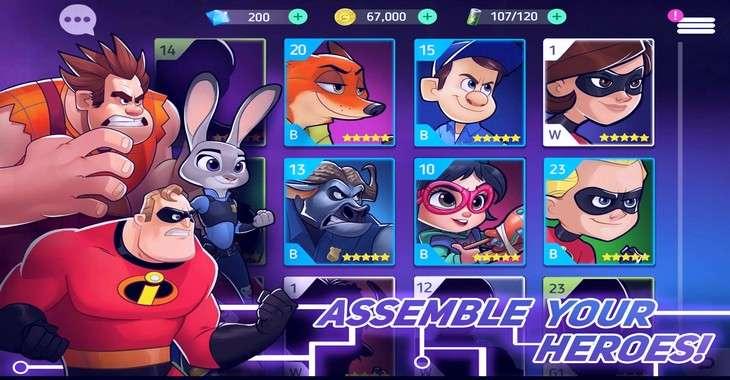 Чит коды на Disney Heroes Battle Mode, как взломать Золото и Драгоценные камни