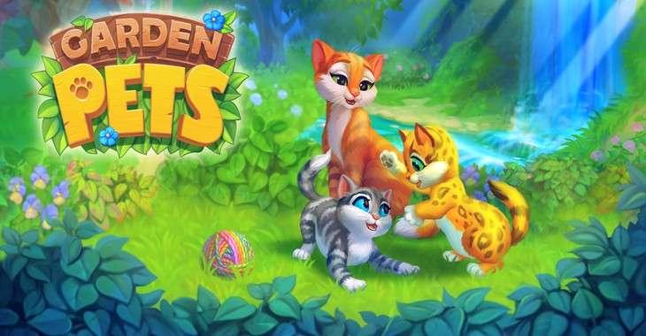 Чит коды на Garden Pets Match 3, как взломать Кристаллы и Золотые лапки