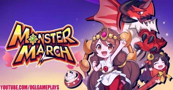 Чит коды на Monster March, как взломать Золото и Кристаллы