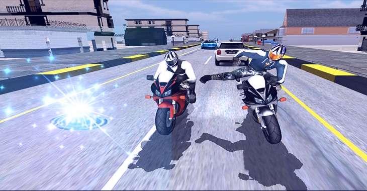 Чит коды на Moto Bike Attack Race, как взломать Монеты