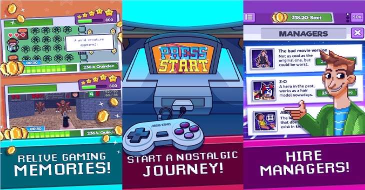 Чит коды на Press Start — Game Nostalgia Clicker, как взломать Монеты