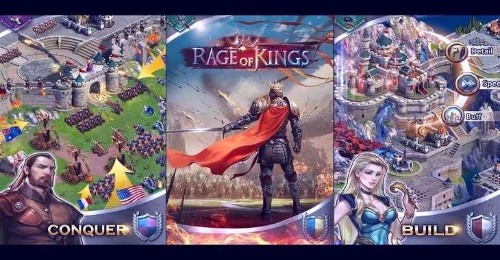 Чит коды на Rage of Kings, как взломать Золото и Еда