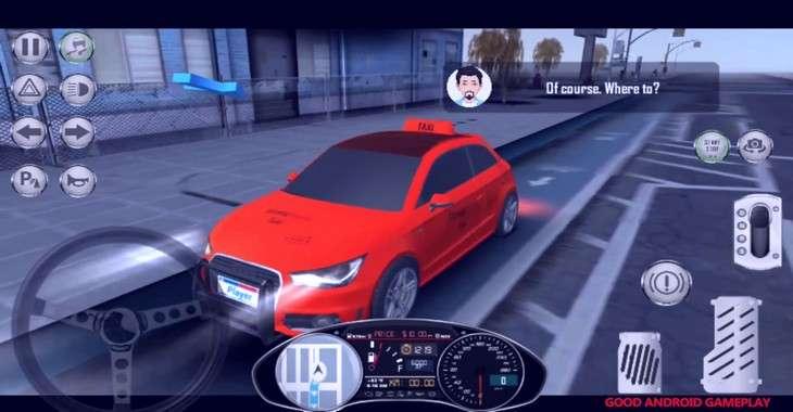 Чит коды на Taxi Car Simulator 2018 Pro, как взломать Деньги
