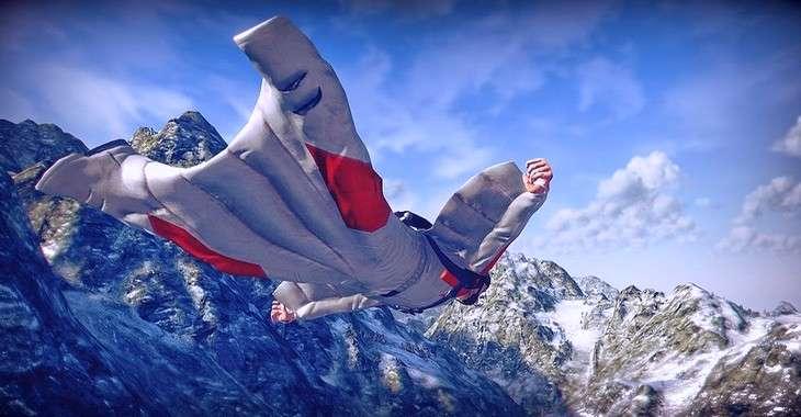 Чит коды на Wingsuit Flying, как взломать Монеты и Бриллианты