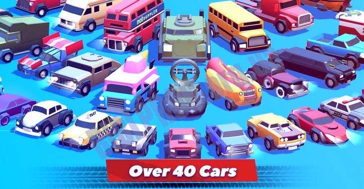 Чит коды на Crash of Cars, как взломать Монеты и Драгоценные камни