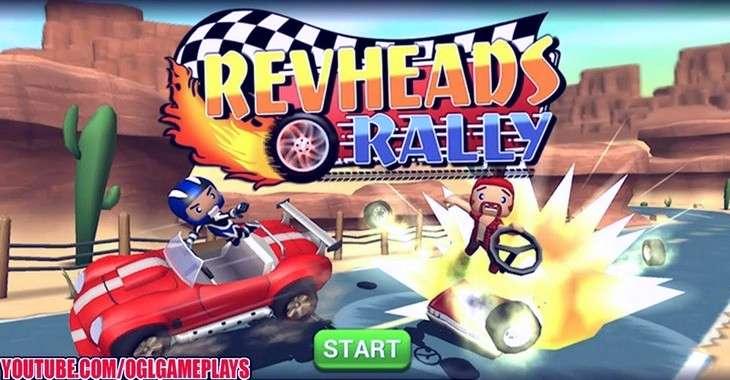 Чит коды на Rev Heads Rally, как взломать Монеты
